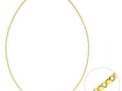 45 Cm Altın Fixli Doc Zincir