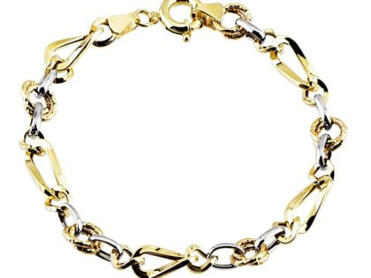 Altın Bileklik Hallow Tasarım 14K Gold