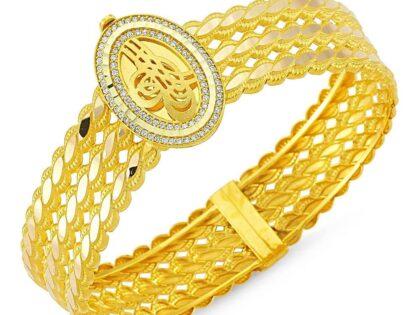 Altın Burma Kelepçe Üç Sıralı