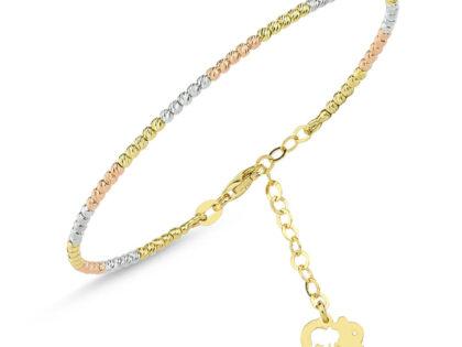 Altın Dorika Kelepçe Tricolor Fil