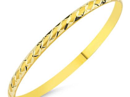 Altın Hediyelik Bilezik Baklama Modeli