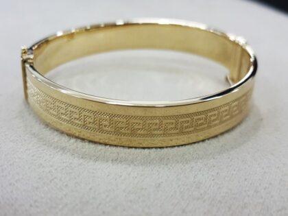 Altın Kelepçe 14K Versage 8 mm
