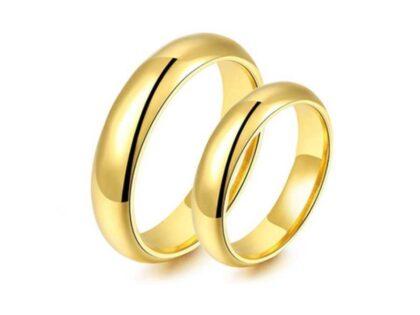 Altın Klasik Alyans (Çift)