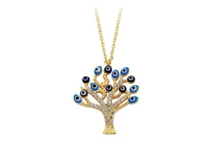 Altın Kolye Hayat Ağacı