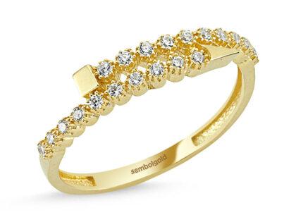 Çivi Altın Yüzük 14K Gold