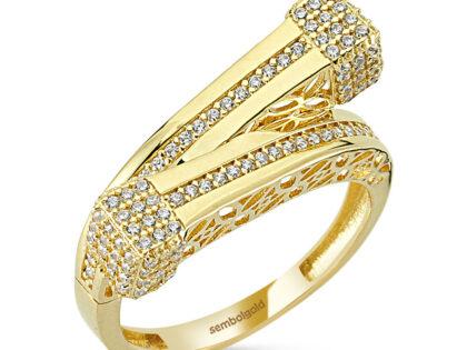 Özel Tasarım Altın Yüzük 14K Gold