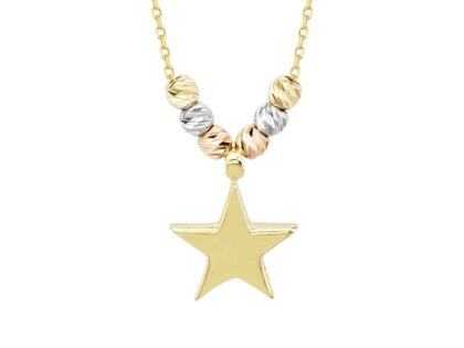 Yıldız Altın Kolye Dorikalı